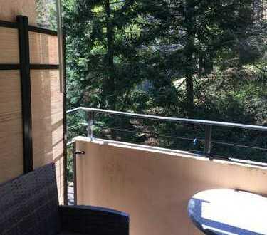 Attraktive 1-Raum-Wohnung mit EBK und Balkon in Bad Herrenalb