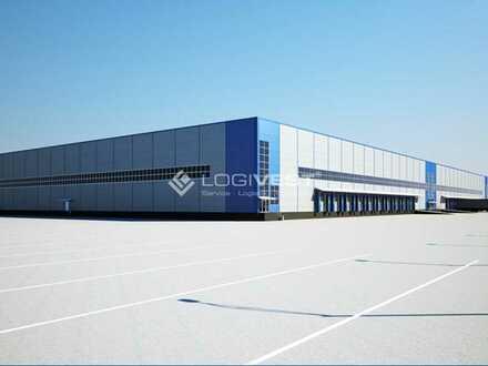 Projektierter Neubau einer Lager-und Logistikfläche an der A 3