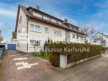 Ettlingen-Musikerviertel! Tolle 2,5-Zimmer-Eigentumswohnung im 1. OG auf Erbpachtgrundstück
