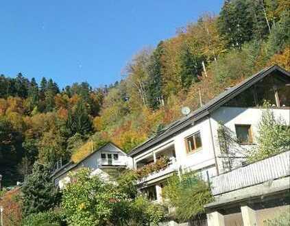 Gepflegte Terrassenwohnung mit dreieinhalb Zimmern und EBK in Buchenbach