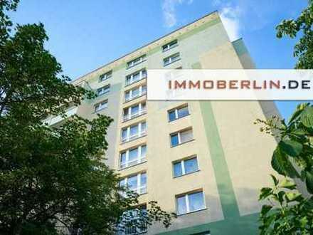 IMMOBERLIN: Topzustand! Wohnung mit Loggia in attraktiver Citylage