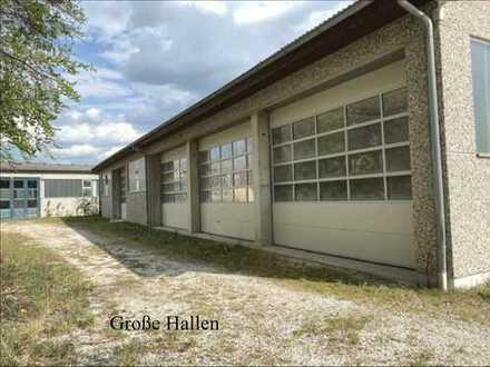Büroflächen und beheizte HALLE 300 m², Container, CARPORTSTELLPLÄTZE, in Schwandorf zu vermieten
