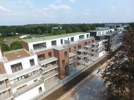 """Das neue Quartier """"Wechloyer Tor"""" in Nachbarschaft zur Universität."""