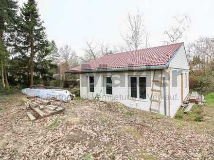 EFH-Rohbau in Berlin-Mahlsdorf: Mit Garten und viel Potenzial