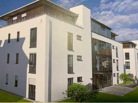 Stadtnahe und altengerechte 3-Zimmer-Penthouse-Wohnung mit Einbauküche in Wangen i. Allgäu