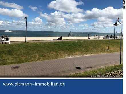 Hörnum! Top-Lage mit Meerblick und Balkon direkt am Strand