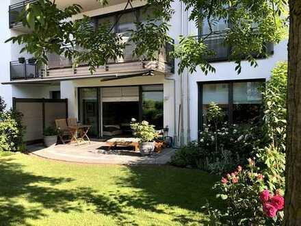 Exklusive Gartenwohnung in Thalkirchen am Isarhochufer
