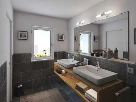 4 Zimmer-Obergeschosswohnung mit zwei Bädern, Abstellraum und Speise