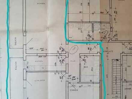 Modernisierte 3,5-Zi.-EG-Wohnung / Balkon / Erdterrasse / Einbauküche in Häusern