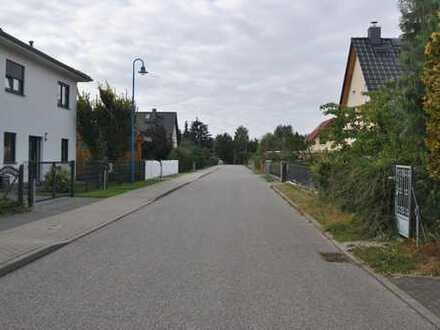 Baugrundstück am südlichen Rand von Bernau-Lindow in gepflegter Nebenstrasse