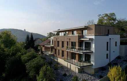 exklusive Neubau-Wohnungen mit Blick auf das Kaiser-Wilhelm-Denkmal