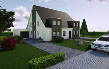 Schlüsselfertig! Elegante Doppelhaushälfte mit attraktiven Eckgrundstück in Aachen-Kornelimünster.