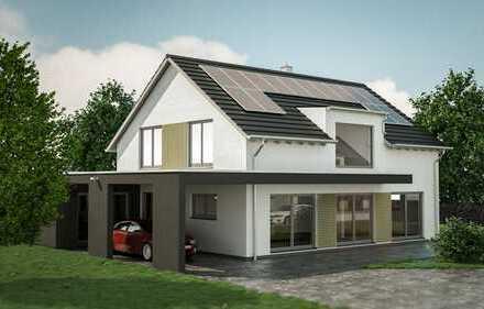 modernes Einfamilienhaus in ruhiger Ortslage