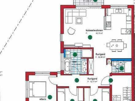 Erstbezug mit Einbauküche und Balkon: freundliche 4-Zimmer-Wohnung in Bischweier