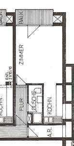 Charmante, frisch renovierte 1,5 Zimmer Wohnung, mit moderner EBK in ruhiger Lage