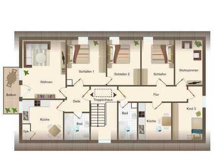 Erstbezug in moderne, frisch sanierte Wohnungen
