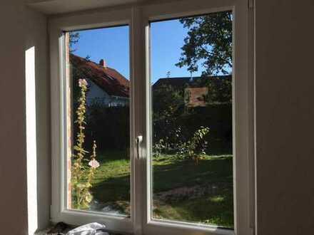 Erstbezug nach Sanierung mit Einbauküche: freundliche 3-Zimmer-EG-Wohnung in Barnstedt
