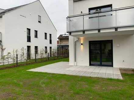 Neubau-Wohnung in Top-Lage mit Garten