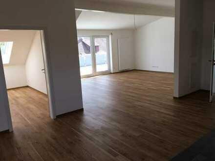Markgr./Unterr.-traumhaftes Wohnen in einer 4 Zi-NEUBAU-Whg mit herrlicher Dachterrasse