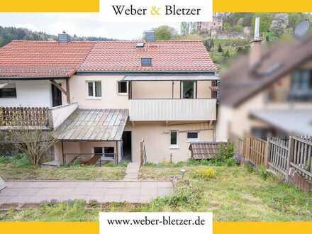 Ein Generationenhaus zur Miete? Zwei getrennte Wohnungen in einem Haus mit Terrasse und Garten!
