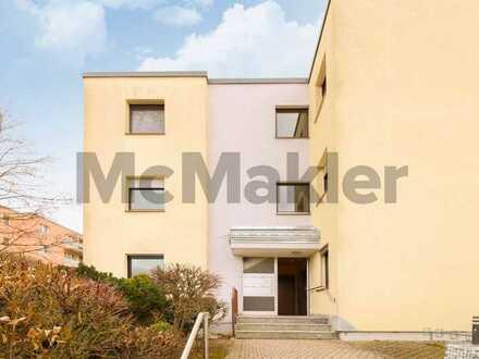 Wohnkomfort mit Blick ins Grüne: Geräumige 3,5-Zi.-Wohnung mit Loggia und Garage