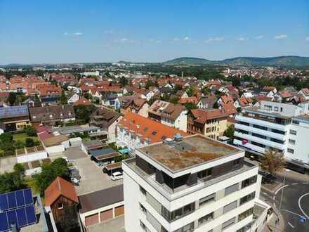 Penthouse über den Dächern von Rommelshausen