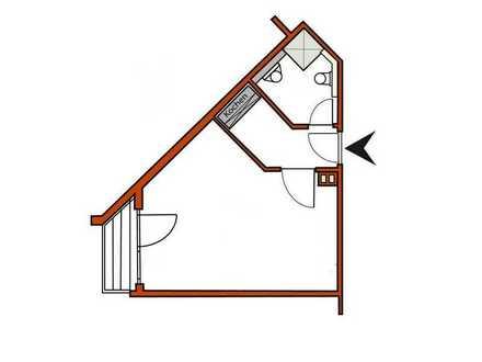 1-Zimmer Appartement 34m² in 91275 Auerbach/OPf. mit Balkon zu vermieten