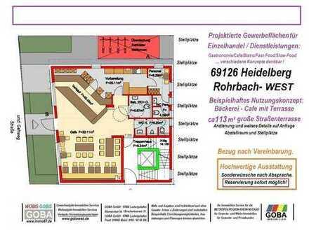 Heidelberg Rohrbach-West - 2019 - Laden Cafe´Büro Praxis Schulungsräume