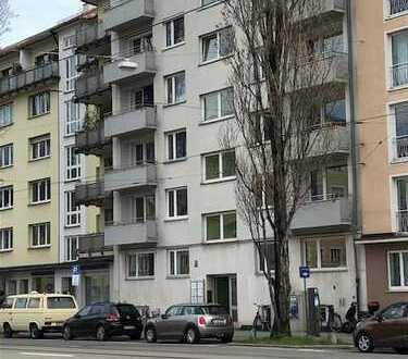 4-Zi.-Büro/Praxis 102m², 2. OG, Zentral-Schwabing, Münchner Freiheit, ab sofort