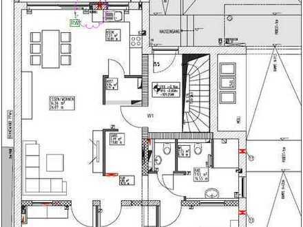 Erstbezug mit Terrasse: exklusive 4-Zimmer-Wohnung in Hambrücken
