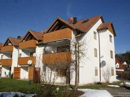 Schöne Maisonettewohnung in sehr gepflegter Wohnanlage am Ortstrand von Thannhausen