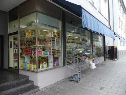 ES-Zentrum: Ladengeschäft mit großer Fensterschaufläche