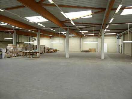 Ca. 2.469 m² Produktions- und Lagerhallenfläche in SHS