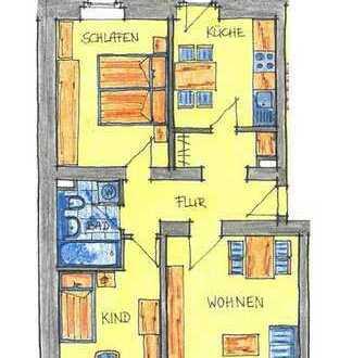 ++ 3-Raum mit Balkon in der Ostvorstadt ++
