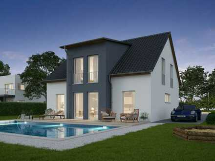 Lichtdurchflutetes Stadthaus inkl. Grundstück Smart Home
