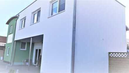 4-Zimmerwohnung inkl. Garten u. Balkon mit Gewerbeeinheit