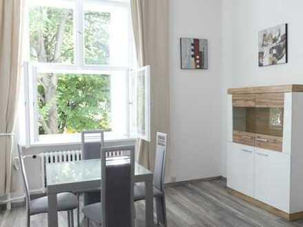 Frischsanierte möblierte Wohnung im gepflegten Altbau Wilmersdorf