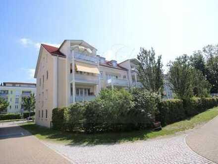 3-ZKB-Wohnung mit eigenem Garten, EBK, Hobbyraum und TG-Stellplatz in Unterföhring