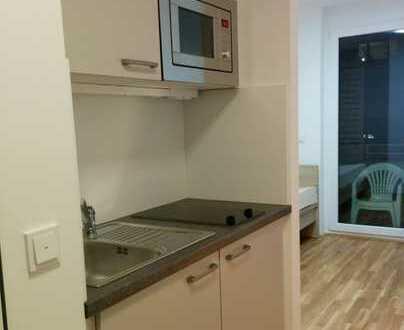 KOMPLETT MÖBLIERT: München 1-Zi.-Apartment mit EBK- für Studenten & Azubis befr. 06.04.-27.07.2019