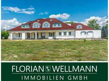 Achim - Baden   Exklusive 12-Zimmer-Villa mit Pool in Wesernähe. Neubau - Erstbezug