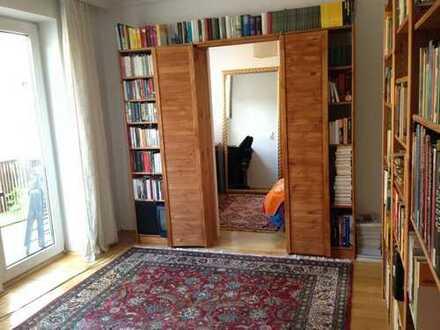 Superzentrale 1,5 Zimmer - möbliert - separat!