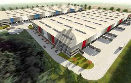 PROVISIONSFREI! NEUBAU/ERSTBEZUG! Lager-/Logistikflächen (13.600 qm) & Büro (900 qm) zu vermieten