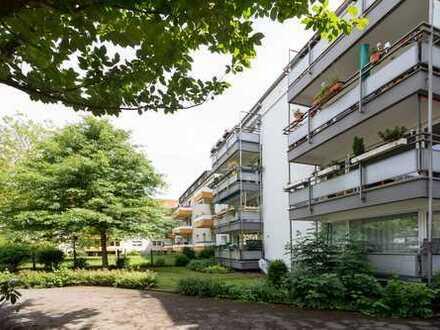 Neudorf - Gellertstrasse 10 / 3 Zi.- Erdgeschoß Whg. mit Balkon zum 01.05.2020 zu vermieten