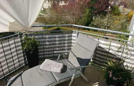 Gepflegte 4-Zimmer-Wohnung mit Balkon in Rothenburg ob der Tauber