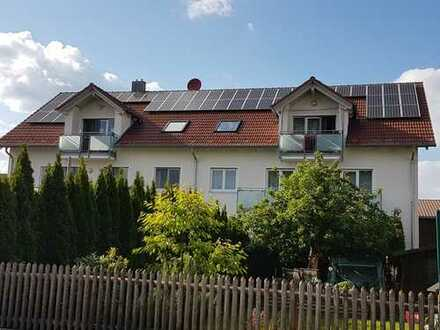 Helle 3-Zimmer-DG-Wohnung mit Balkon und offenem Wohnbereich in Eitting KEINE PROVISION