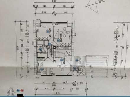 Gepflegte DG-Wohnung mit drei Zimmern sowie Balkon und Einbauküche in Rangendingen