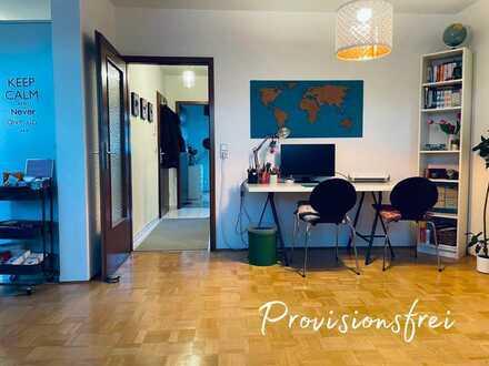 Heute schon an morgen denken: Traumhafte 2 Zimmer-DG-Wohnung mit TG-Stellplatz und Sonnenbalkon