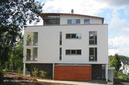 Architektenhaus, 4-Zi Wohnung, hochwertig, Südbalkon, 2.OG,
