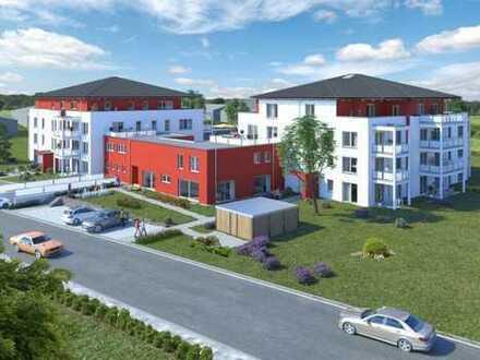 Mit Blick ins Grüne! Attraktive 3,5-Zimmer-Eigentumswohnung mit herrlichem Dachterrasse