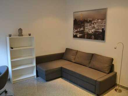 Exklusives, möbiliertes 1-Zimmer-Appartement in Ka-Südweststadt
